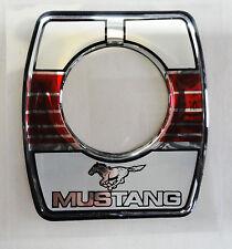 Vintage 80's 90's Automotive Trunk Lock Scratch Guard Accent Trim MUSTANG
