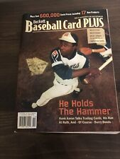 Beckett Baseball Card Plus Hank Aaron Cover September/October 2005