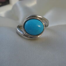 2.25ct Natural Arizona Sleeping Beauty Turquoise Sterling Silver Ring