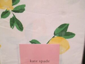 "Kate Spade ""Make Lemonade"" Lemons  Tablecloth  60"" x 102""  ..NEW"