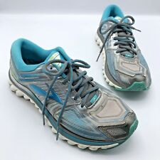 1a4bdb75e03a Brooks Glycerin 13 Women Blue Silver Running Shoe Size 10 EUR 42 Pre Owned