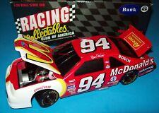 Bill Elliott 1996 McDonald's #94 Ford Thunderbird 1/24 NASCAR Diecast BWB New