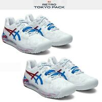 Asics Gel-Resolution 8 L.E Retro Tokyo 2020 Olympic Men Women Tennis Shoe Pick 1