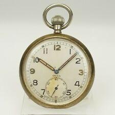 Rar! DOXA Militär WK2 Taschenuhr Herren Uhr Uhren military pocket watch WWII RAR