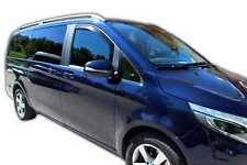 MERCEDES VITO V CLASS W447 2014-up Front wind deflectors 2pc set TINTED HEKO