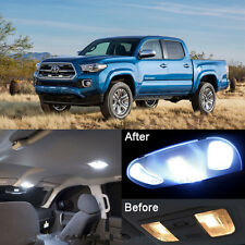 Xenon White LED Interior kit + License Light LED For Toyota Tacoma 2005-2017