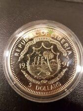 1997 Proof Republic Liberia 5 Dollars Princess Diana Coin Pack
