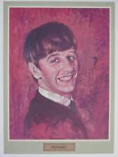 "Ringo Starr THE BEATLES Signed Autograph ""The Beatle Buddies' Club"" 9x11.5 Photo"