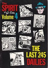 1980 Wil Eisner The Spirit The Last 245 Dailies Comic Book