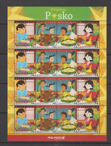 Philippine Stamps 2018 Christmas Complete set Sheetlet