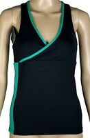 Women's DEVOTION Sports Top ~ Size S ~ NEW ~ Green Trim ~ rrp $65 ~MBC