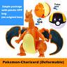 Pokemon Charizard Action Figure Ball Transformation Robot Toy Deformation no box