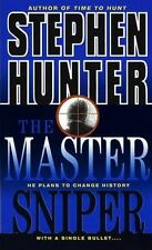 A NOVEL - THE MASTER SNIPER BY STEPHEN HUNTER - A SNIPER THRILLER - NICE