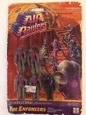 "1987 AIR RAIDERS TYRANTS OF WIND THE ENFORCERS HASBRO 2"" FIGURES SEALED"