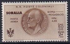 "1934 Colonies Somalia ""Flight Rome Mogadishu"" PA 8 NEW MNH **"
