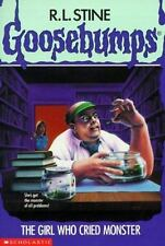 Goosebumps: The Girl Who Cried Monster No. 8 by R. L. Stine (1993, Paperback)