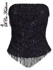 Trägerlose Damenunterwäsche für glamouröse Anlässe Wäschegröße 38