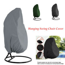 Hanging Swing Chair Cover Waterproof Rattan Egg Seat Protect Garden Furniture