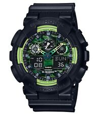 Casio G Shock * GA100LY-1A Anadigi Sporty Illumi Lime & Black Gshock COD PayPal