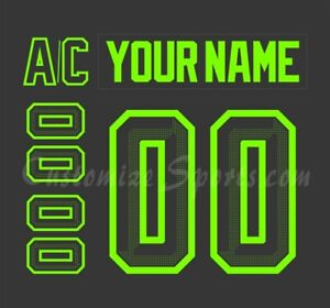 Dallas Stars Customized Number Kit for 2021-Present 3rd Jersey