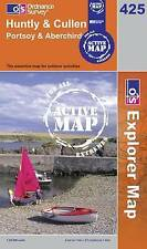 Huntly and Cullen  - OS Explorer ACTIVE Map 425 (NEW 2007 folded sheet map)