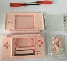 Austausch Ersatz Komplett Gehäuse für Nintendo DS Lite NDSL in Rosa
