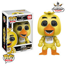 NEW FUNKO POP! Five Nights At Freddy's - CHICA - FNAF Vinyl Figure OFFICIAL #108