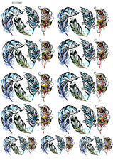 Ceramic Waterslide Decals - Feathers 19172069 LEAD FREE FOOD SAFE