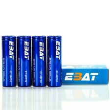 4X EBAT IMR 20700 3000MAH 40A 3.7V   Authentic Real High Drain Flat Top Battery