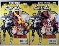 💀 PUNISHER #1 NM- SENTRY + OSBORN DARK REIGN VARIANT SET Amazing Spider-Man 129