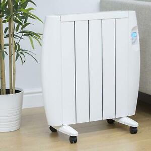 Eco Green Energy Efficient Ceramic Wall Heater Radiator Digital Control 1000W