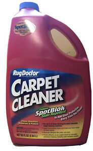 New 96oz Rug Doctor Portable Machine Carpet Cleaner Carpeting Cleaning Solution