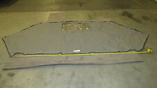 NEW 2004 Lund Tyee Magnum, Aft Cover with zipper and snaps - Grey, B/H-16-71