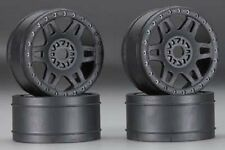 PROLINE  Split Six V2 Black Front/Rear Wheels 1/8 (4)  PRO272403