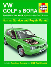 Volkswagen VW Golf & VW Bora Turbo Petrol & Diesel Haynes Manual 3727 NEW
