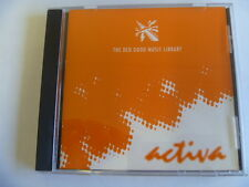 ACTIVA THE DED GOOD MUSIC LIBRARY RARE LIBRARY SOUNDS MUSIC CD