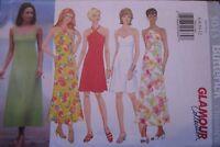 5043 Vintage Butterick SEWING Pattern Misses Summer Dress 6-18 UNCUT OOP NEW FF