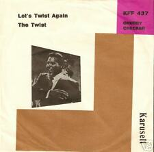 "CHUBBY CHECKER - Let's Twist again / Danish ""7"