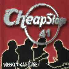 WEEKLY CAROUSE - Cheap Stage 41 CD NEU Melodic-Punk