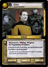 Star Trek CCG 2E Necessary Evil Data, Loyal Brother 4R158