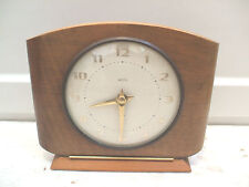 Art Deco Other Wooden Antique Clocks with Keys, Winders