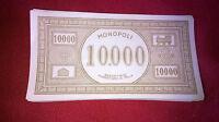 MONOPOLI banconote L.10000 n°10 pz