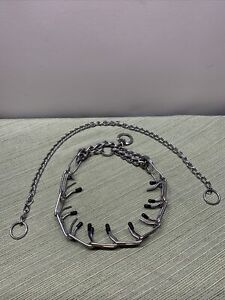 Prong Collar Large With Chain Collar Pre-owned