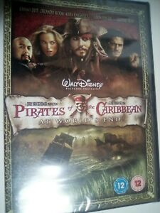 Pirates of the Carribbean At World's End New & Sealed DVD