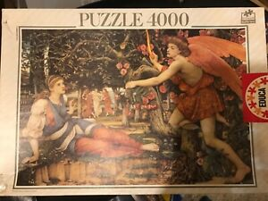 Educa 4000 piece jigsaw puzzle Love and the Maiden 11763