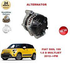 FOR FIAT 500L 199 1.6 D MULTIJET 2012-- ON ALTERNATOR UNIT
