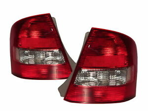 Allegro BJ MK8 1998-2004 Sedan 4D Clear Tail Rear Light Red/White V4 for MAZDA