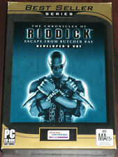 Pc Cd. The Chronicles of Riddick. Escape from Butcher Bay