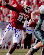 Tommie Harris Oklahoma Sooners Football SIGNED 8x10 Photo COA!