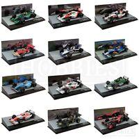 F1 Diecast Car Models 1/43 Scale Lotus Brawn Jordan Honda Sauber Jaguar Brabham